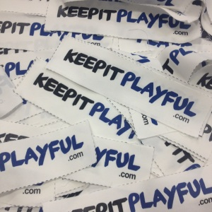 Wear a KeepItPlayful patch as a reminder to create movement.
